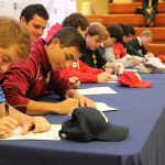 Athletic signing