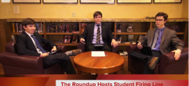 The Roundup's Firing Line–Liberal v. Conservative, Episode 1