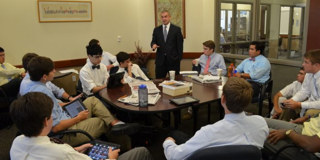 Mr. Shoemaker: A Profile of Jesuit's Newest College Counselor
