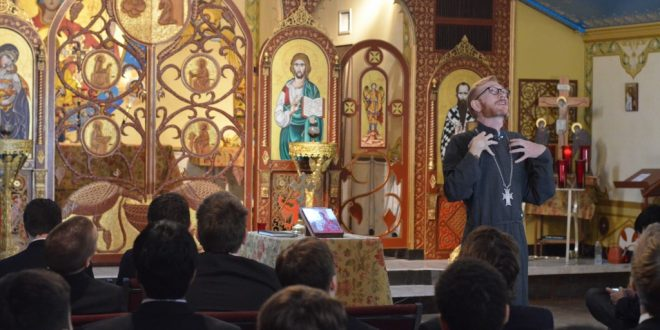 Jesuit Theology Promotes Ecumenism with Field Trip to Byzantine Church