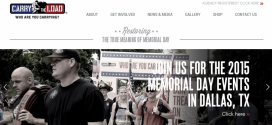 Remembering Memorial Day with Carry the Load