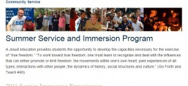 Jesuit Immersion Trips