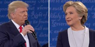 The two candidates clash in the second of three presidential debates.