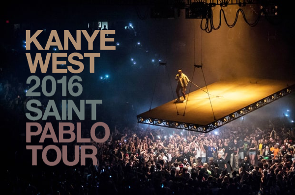Yeezy, Breezy, Beautiful: The Saint Pablo Tour // The Roundup