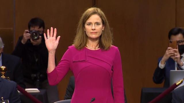 Confirmation Hearing Day 1 – Judge Amy Coney Barrett
