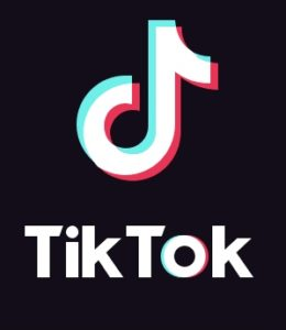 the logo for tiktok